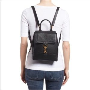 Rebecca Minkoff Bree convertible leather backpack